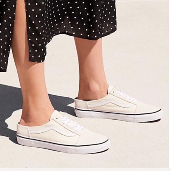 NWT Vans Old Skool Mules Slip On Sneaker W9.5, M8 NWT